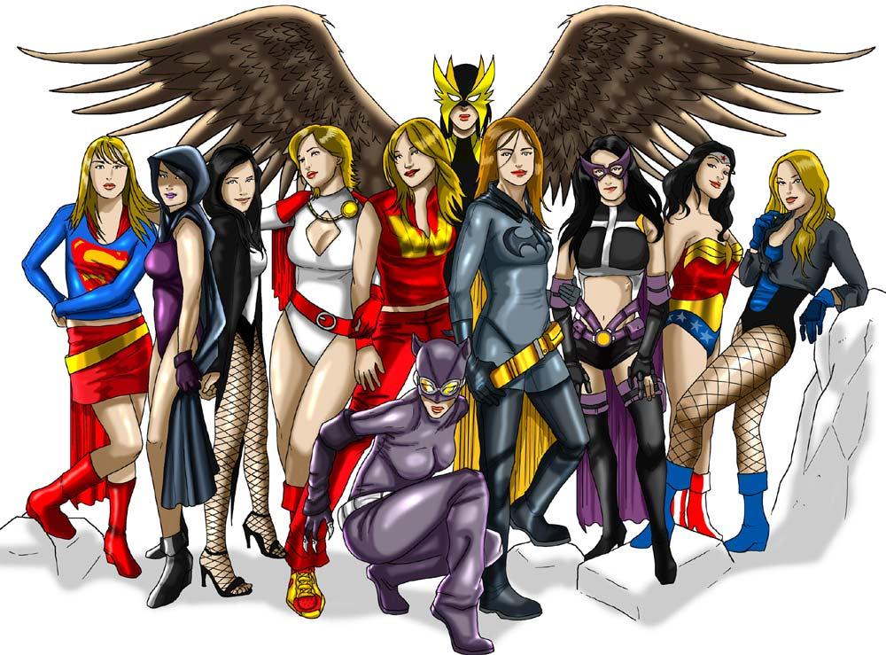 Les plus grandes super h roines de chez dc superbelette - Image super heros fille ...