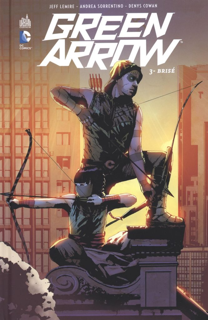 comics green arrow dc