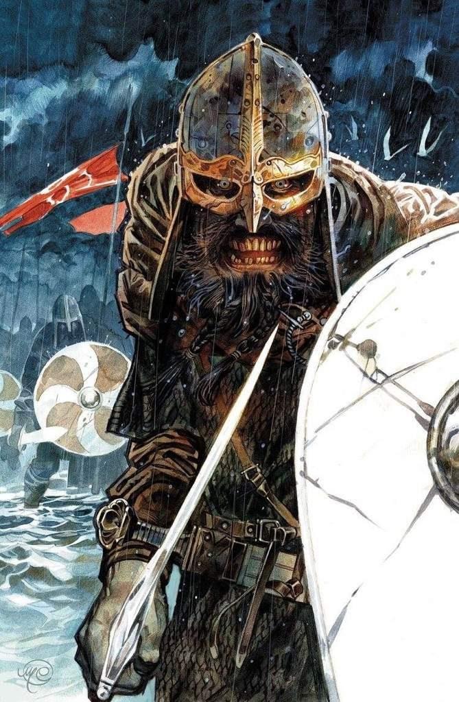 bande dessinée sur l'histoire des vikings