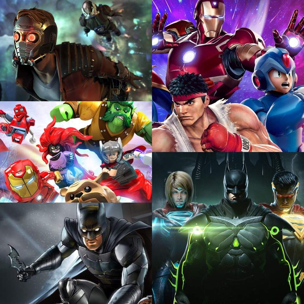 jeu video marvel dc