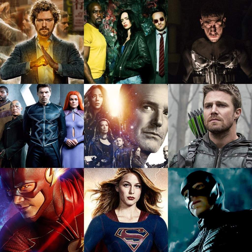 series tv marvel vs dc