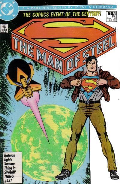 histoire origine superman