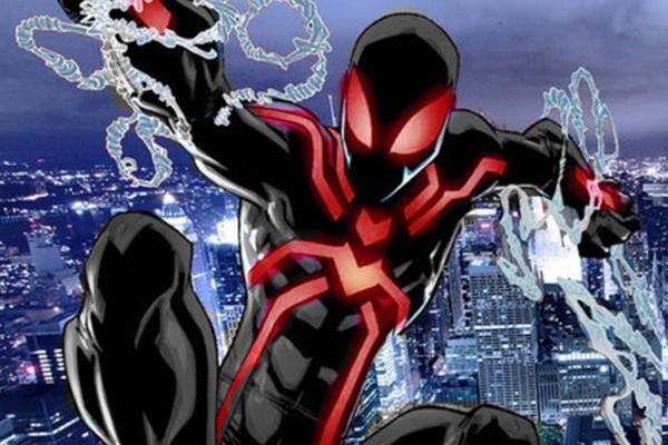 spiderman costume noir