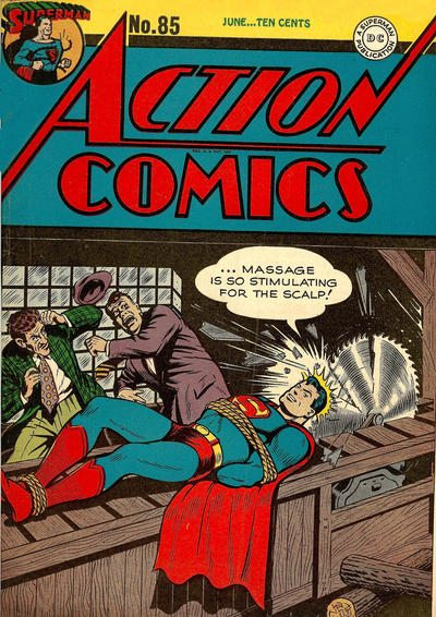 couverture action comics