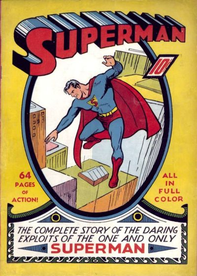 couverture superman comics