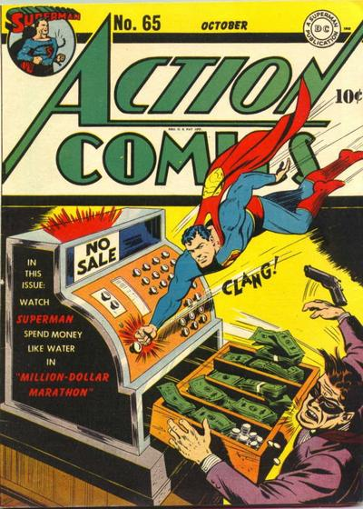 superman action comics cover