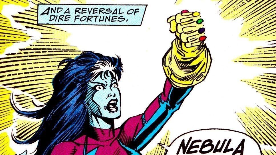 personnage comics gant infini
