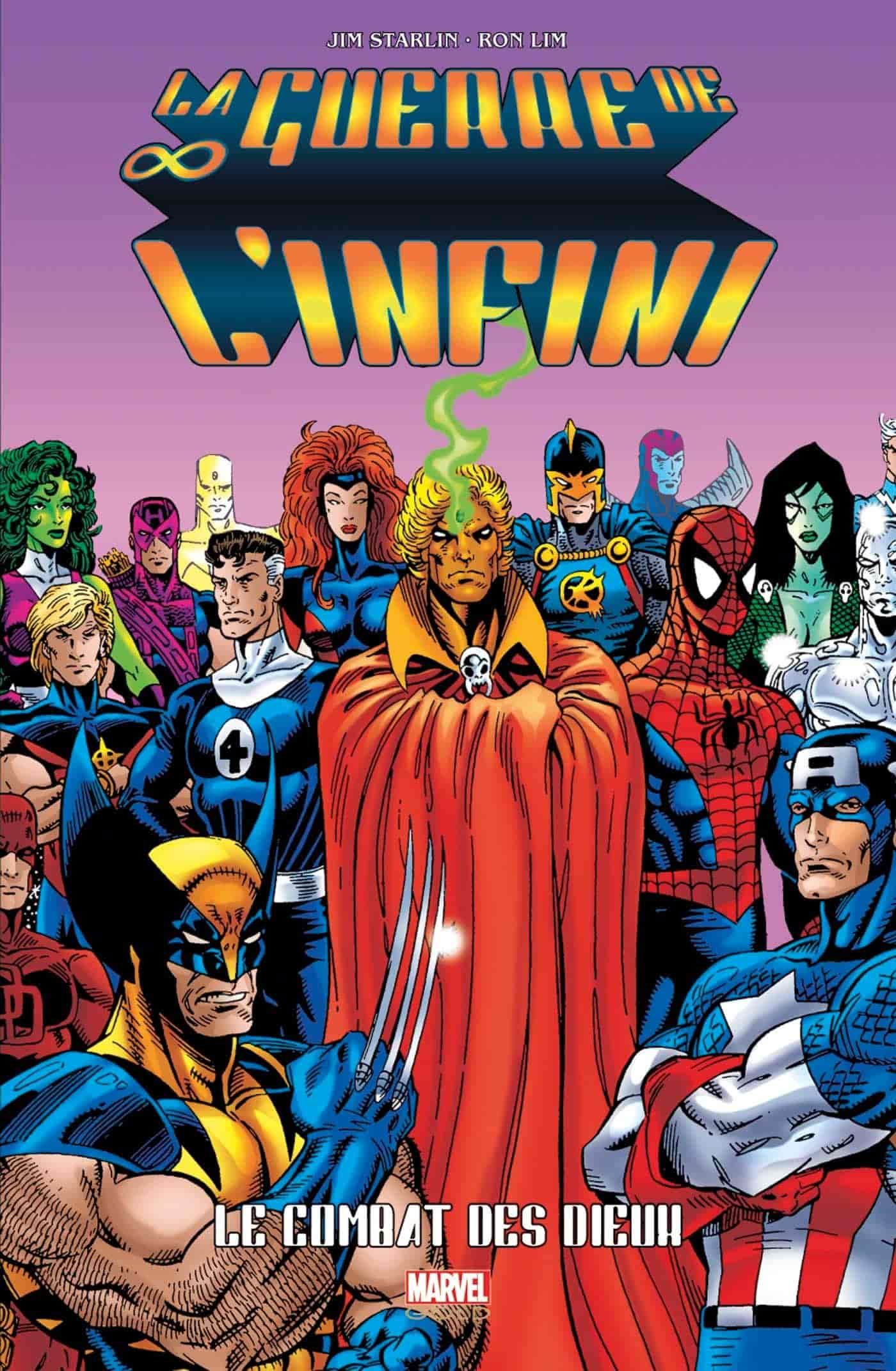 chronologie comics marvel
