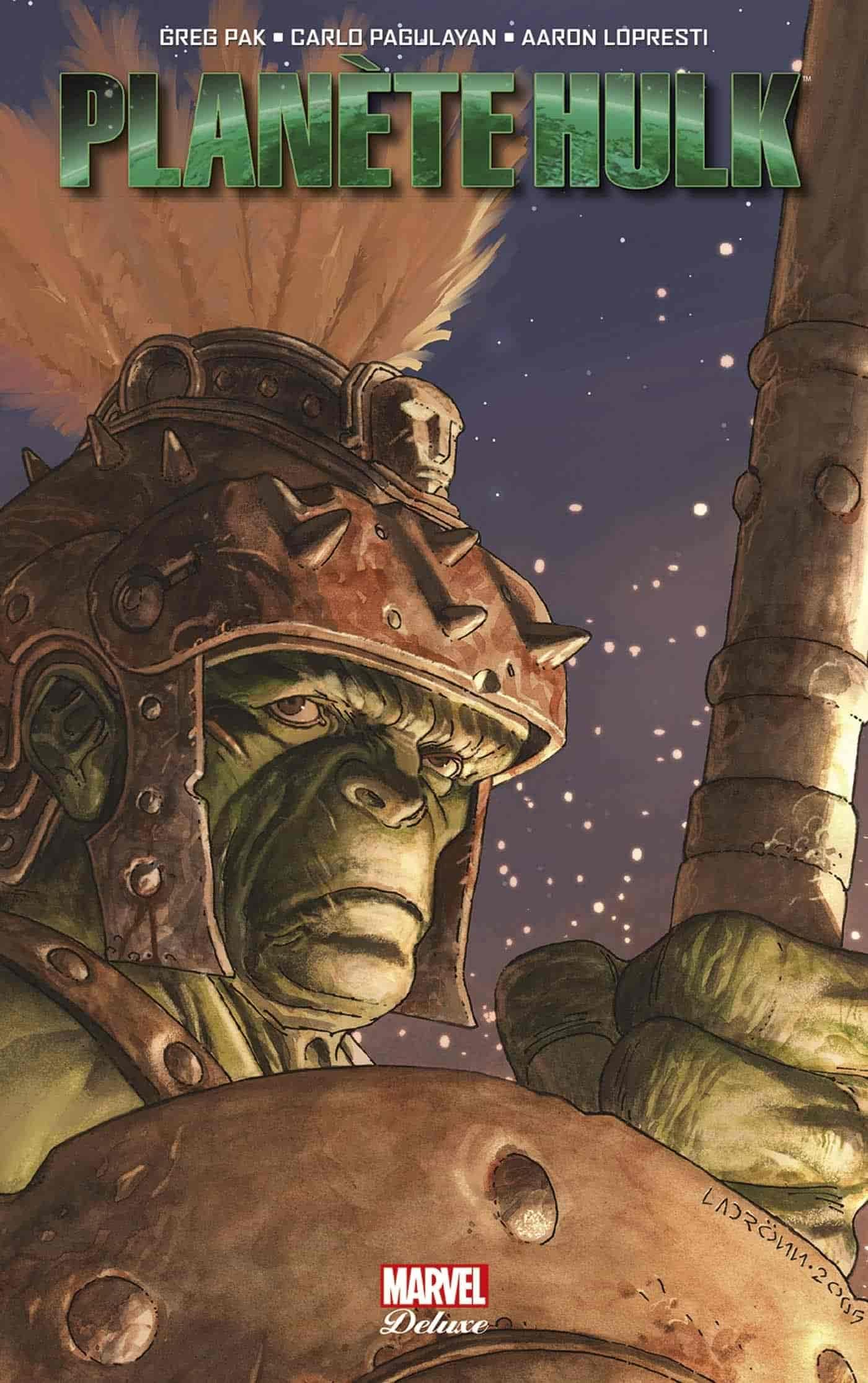 chronologie planète hulk