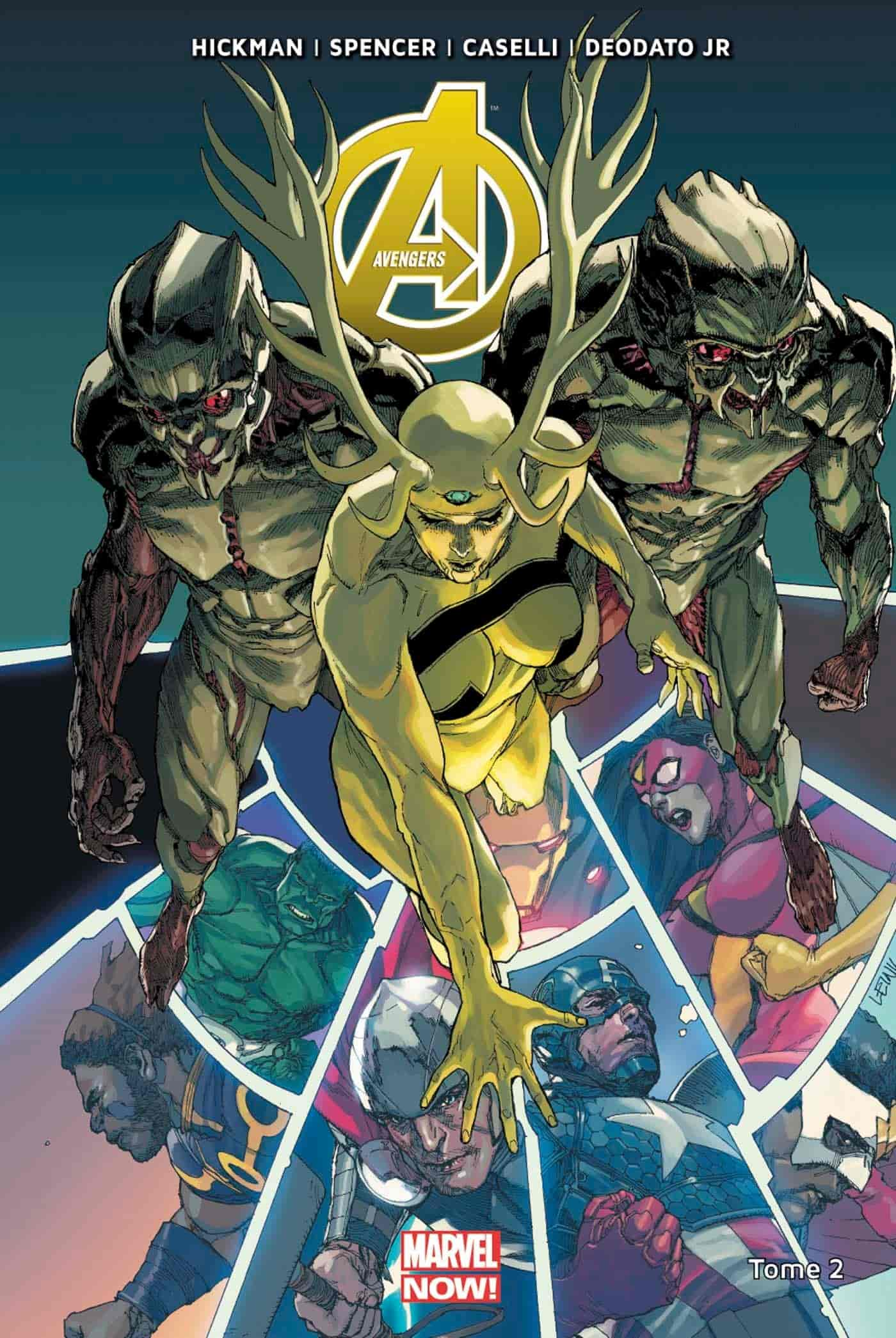comics avengers thanos