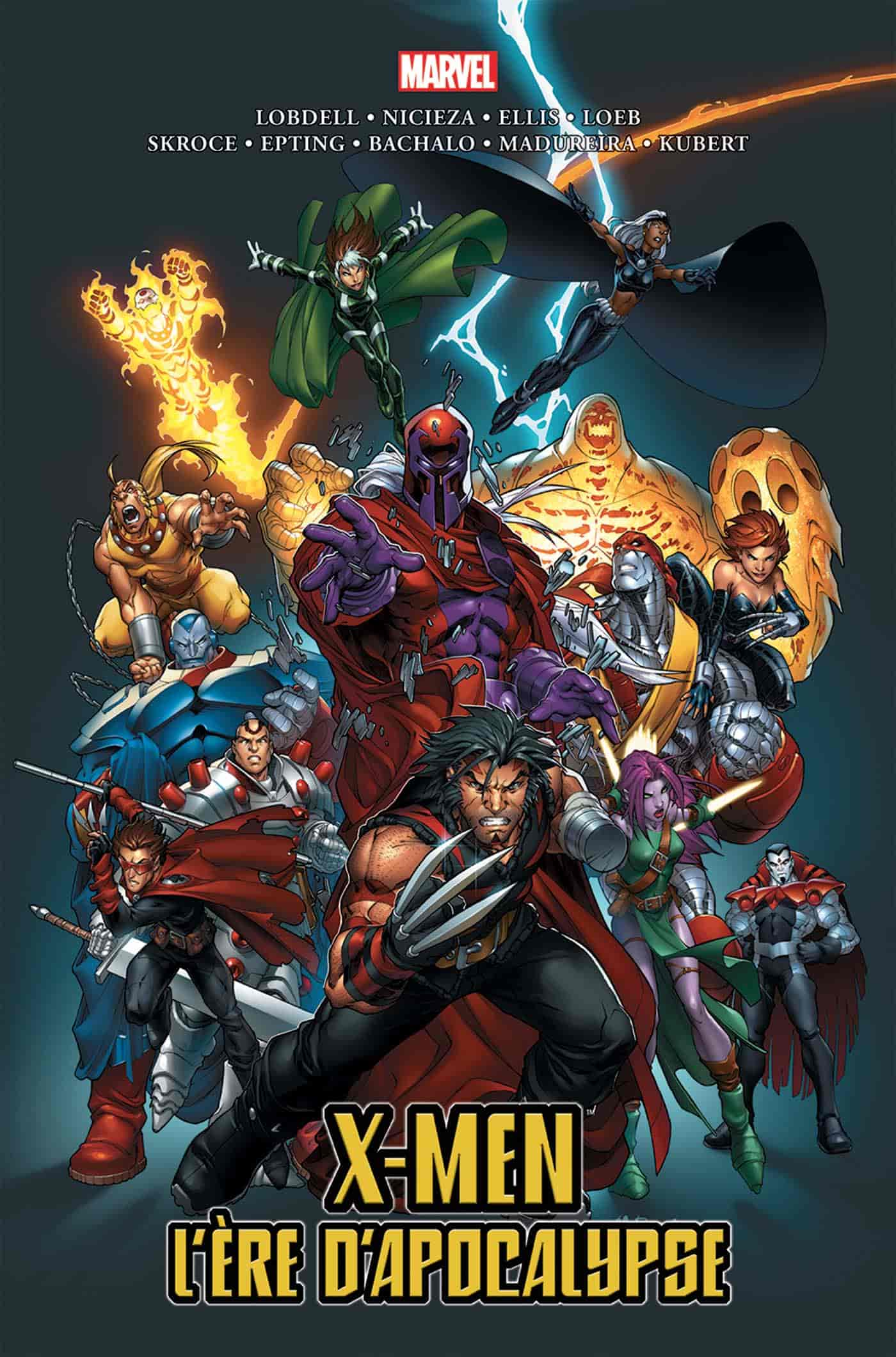 comics où magneto est le heros