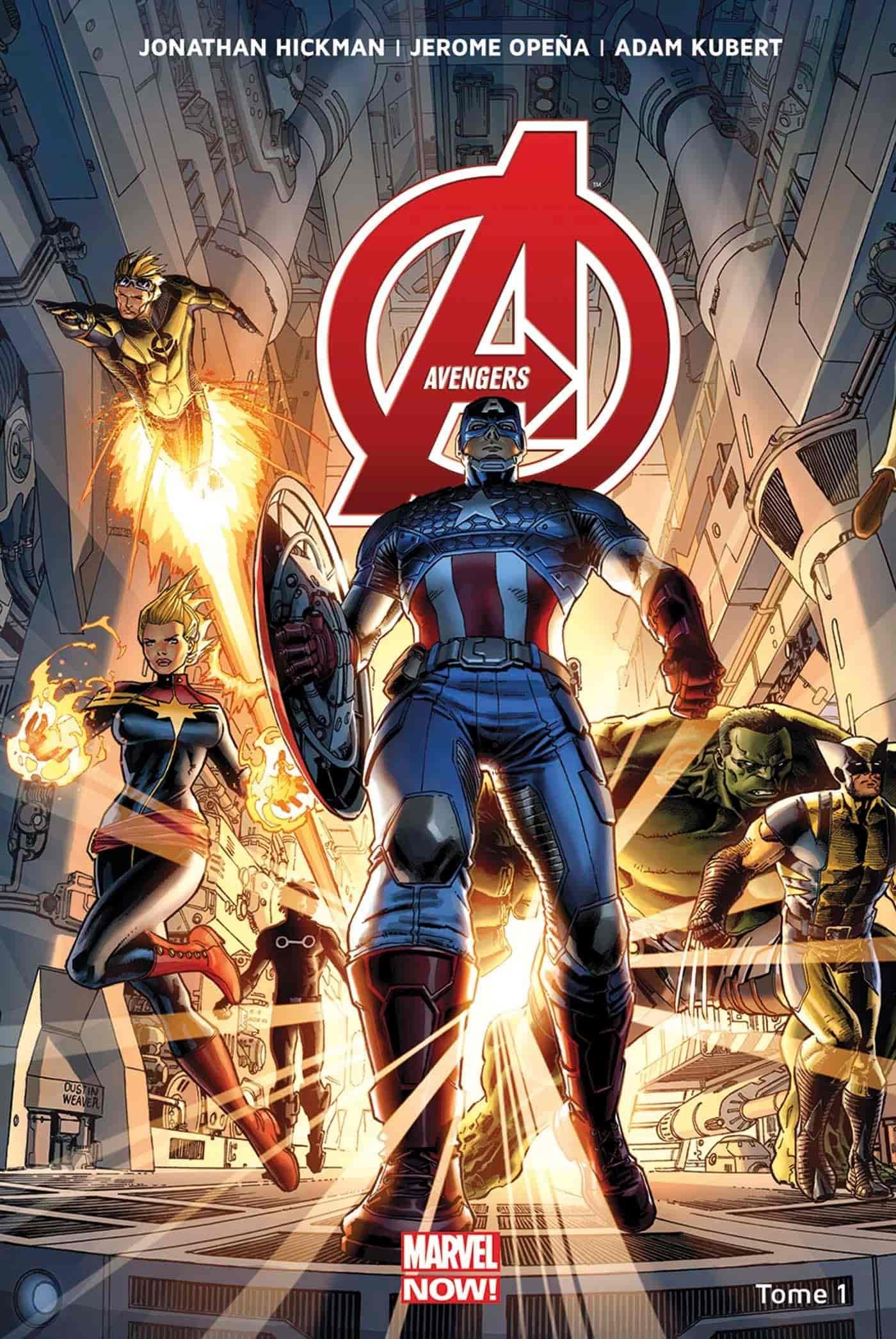 ordre chronologique comics avengers