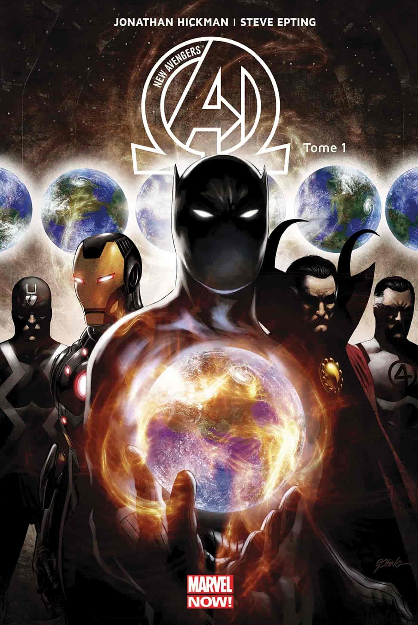 top comics avengers