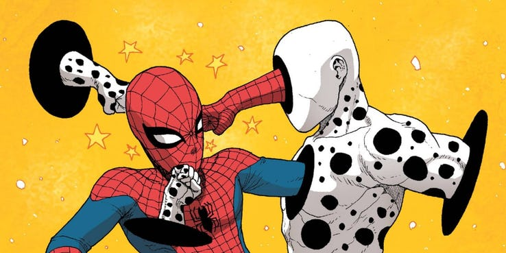 top méchant spider man