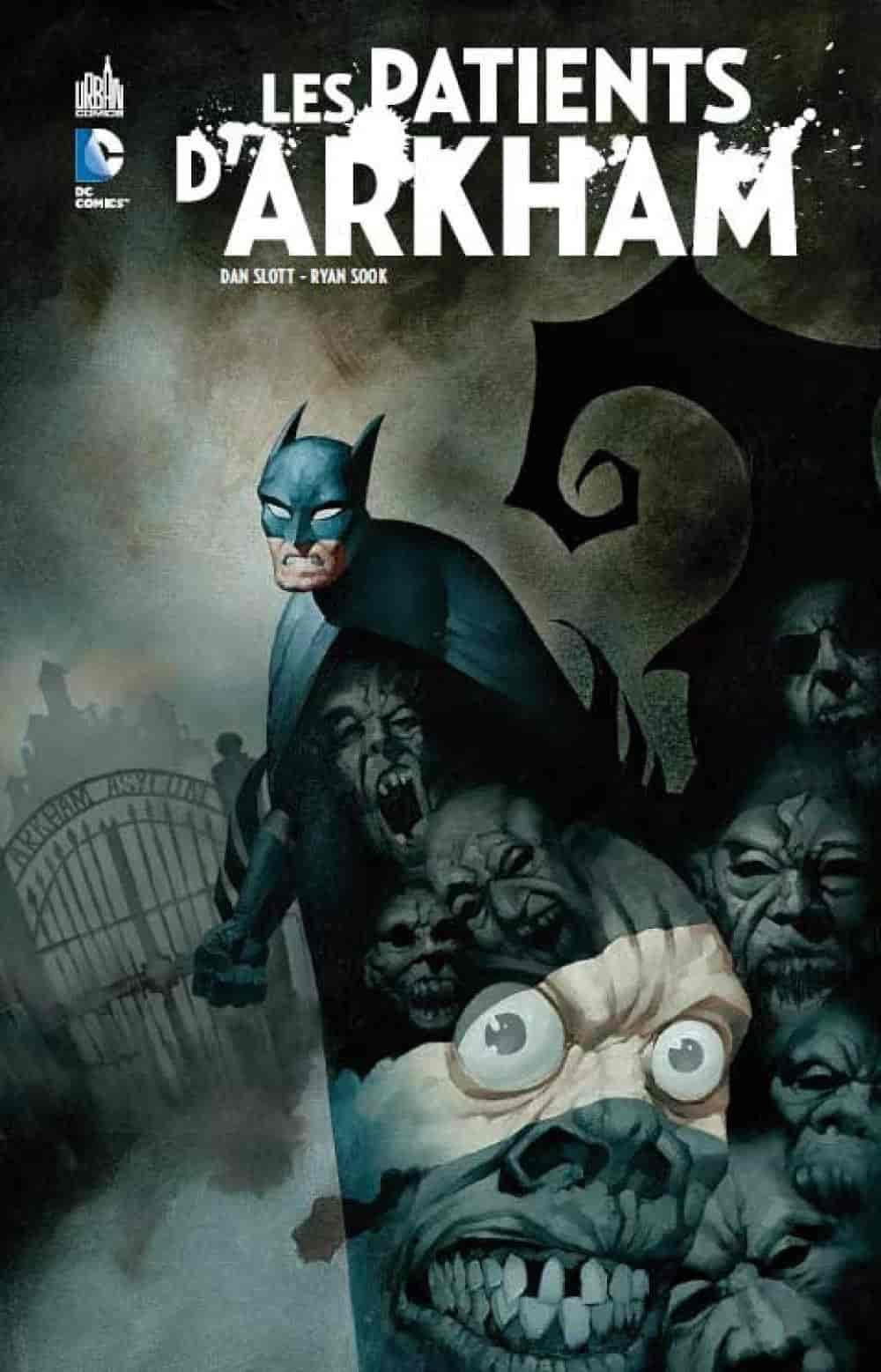 batman comics arkham