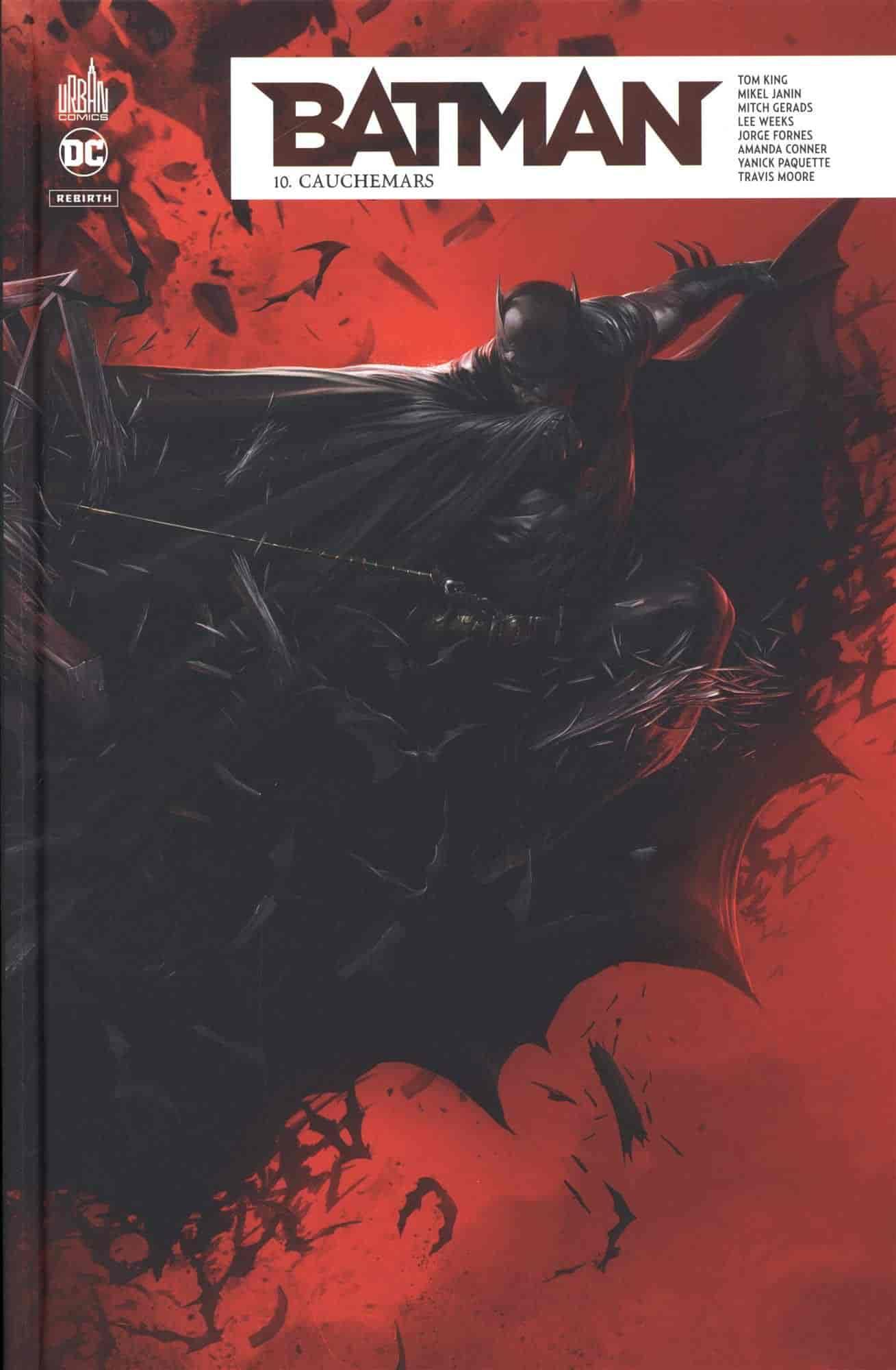 batman rebirth liste complete