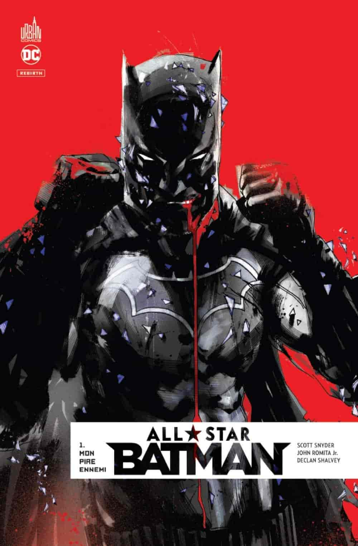 debutant comics rebirth batman