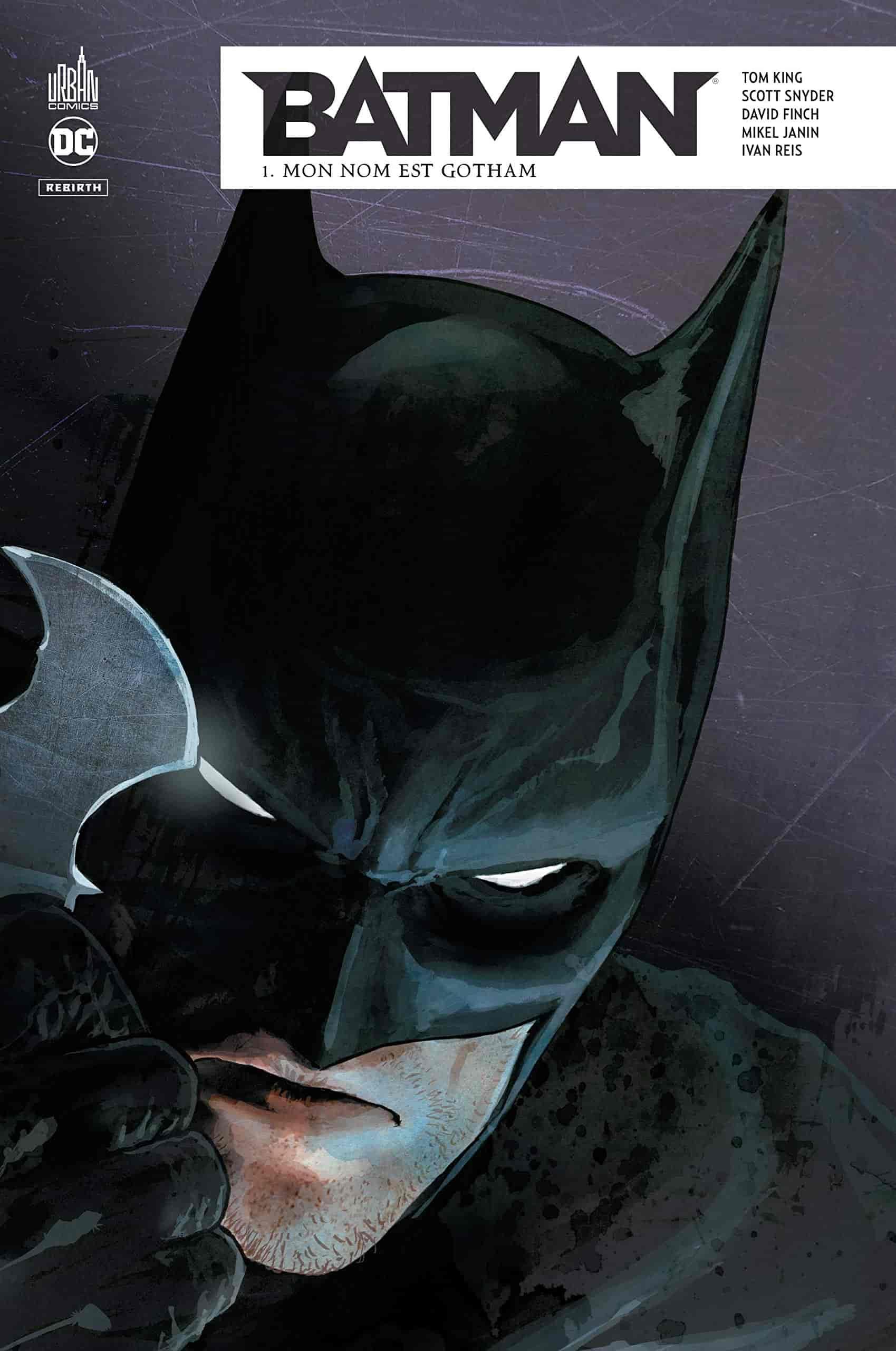 guide batman rebirth