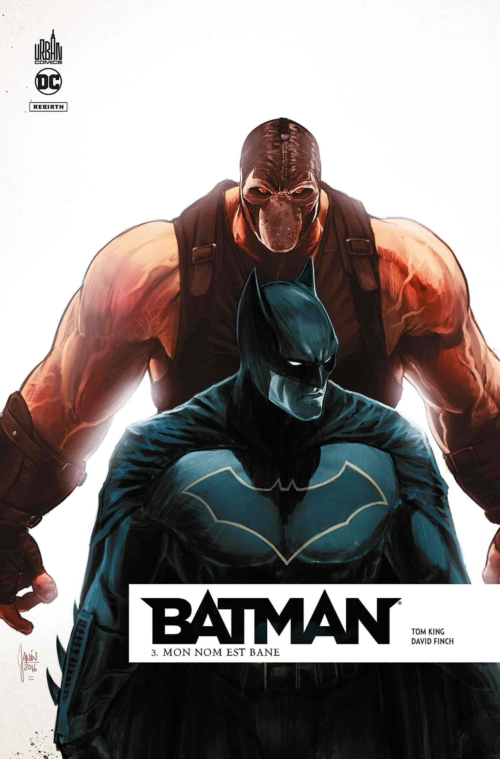 liste comics batman rebirth