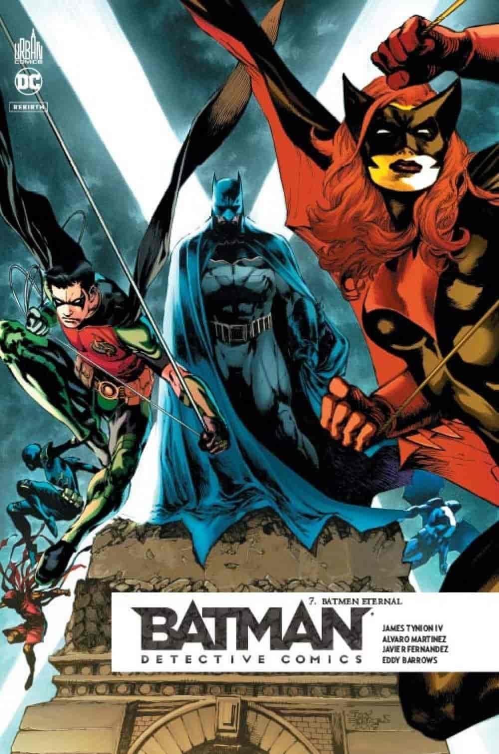 ordre lecture comics batman rebirth