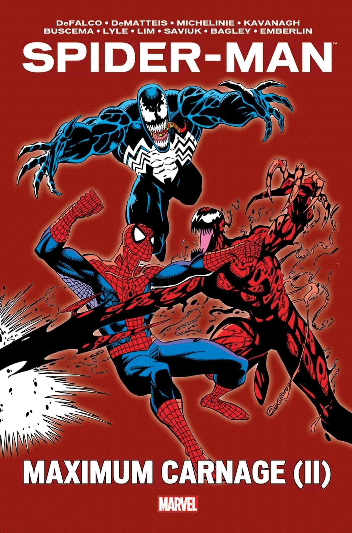 liste comics carnage