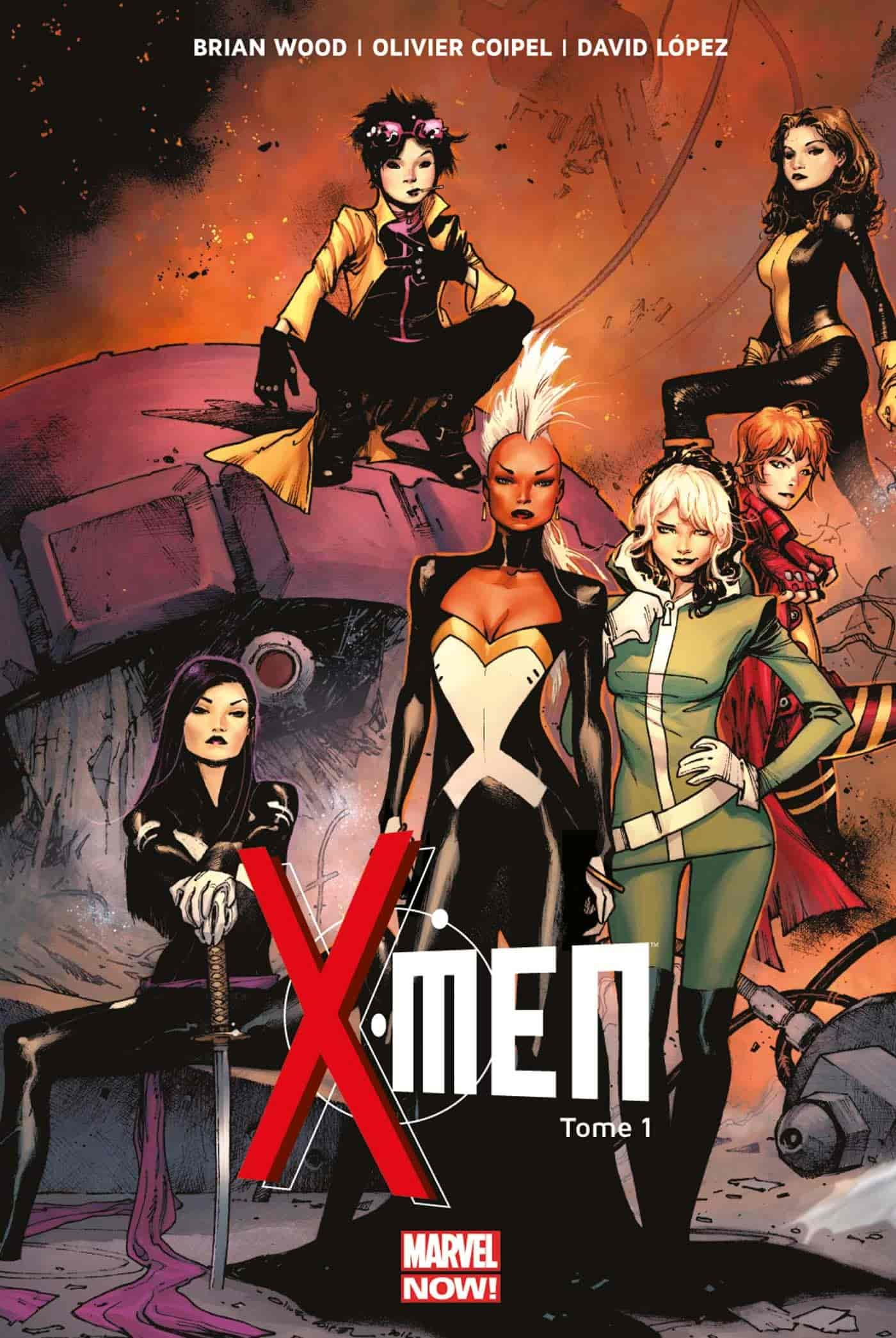 scan comics x-men fr