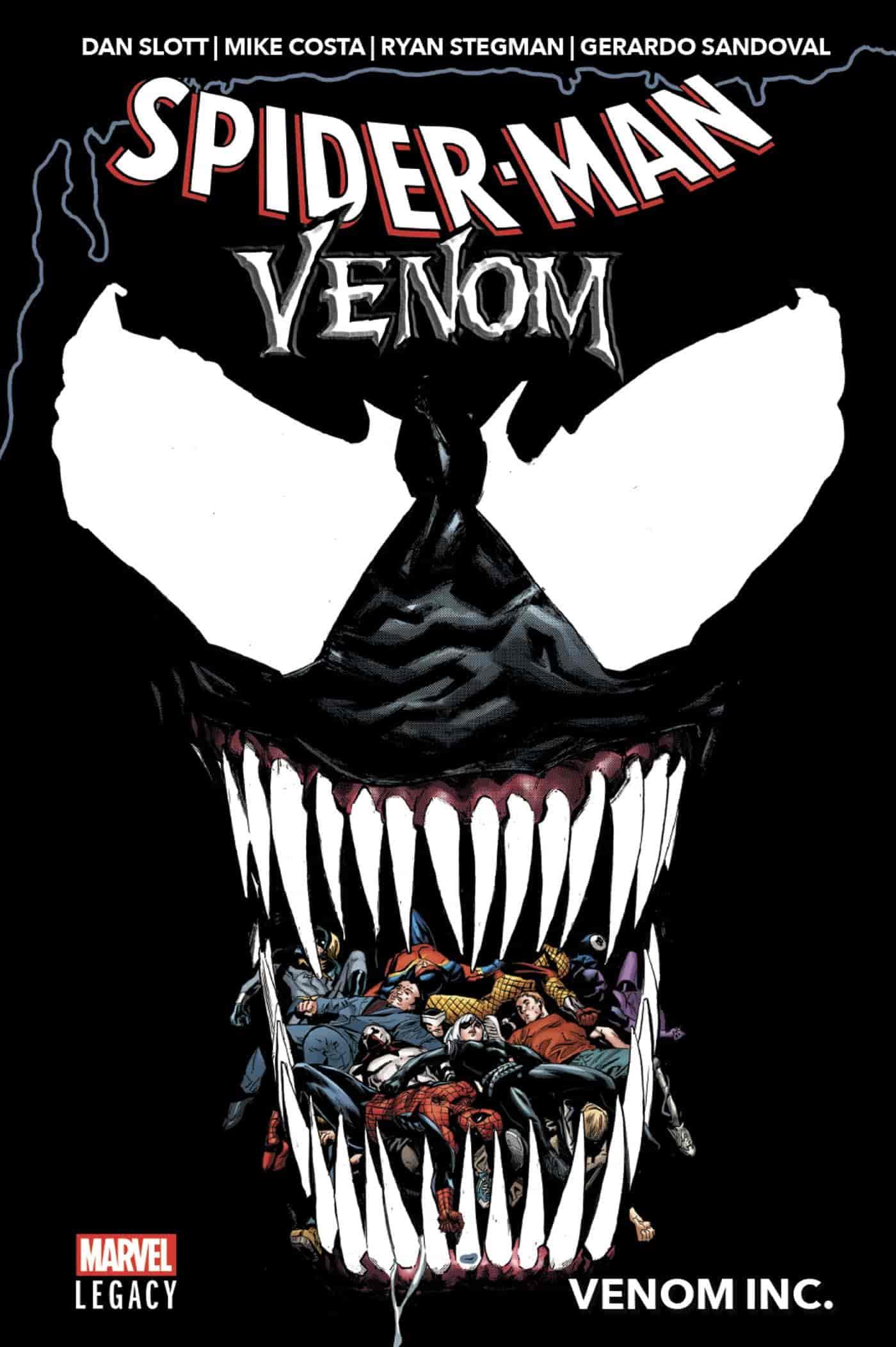 spiderman venom comics