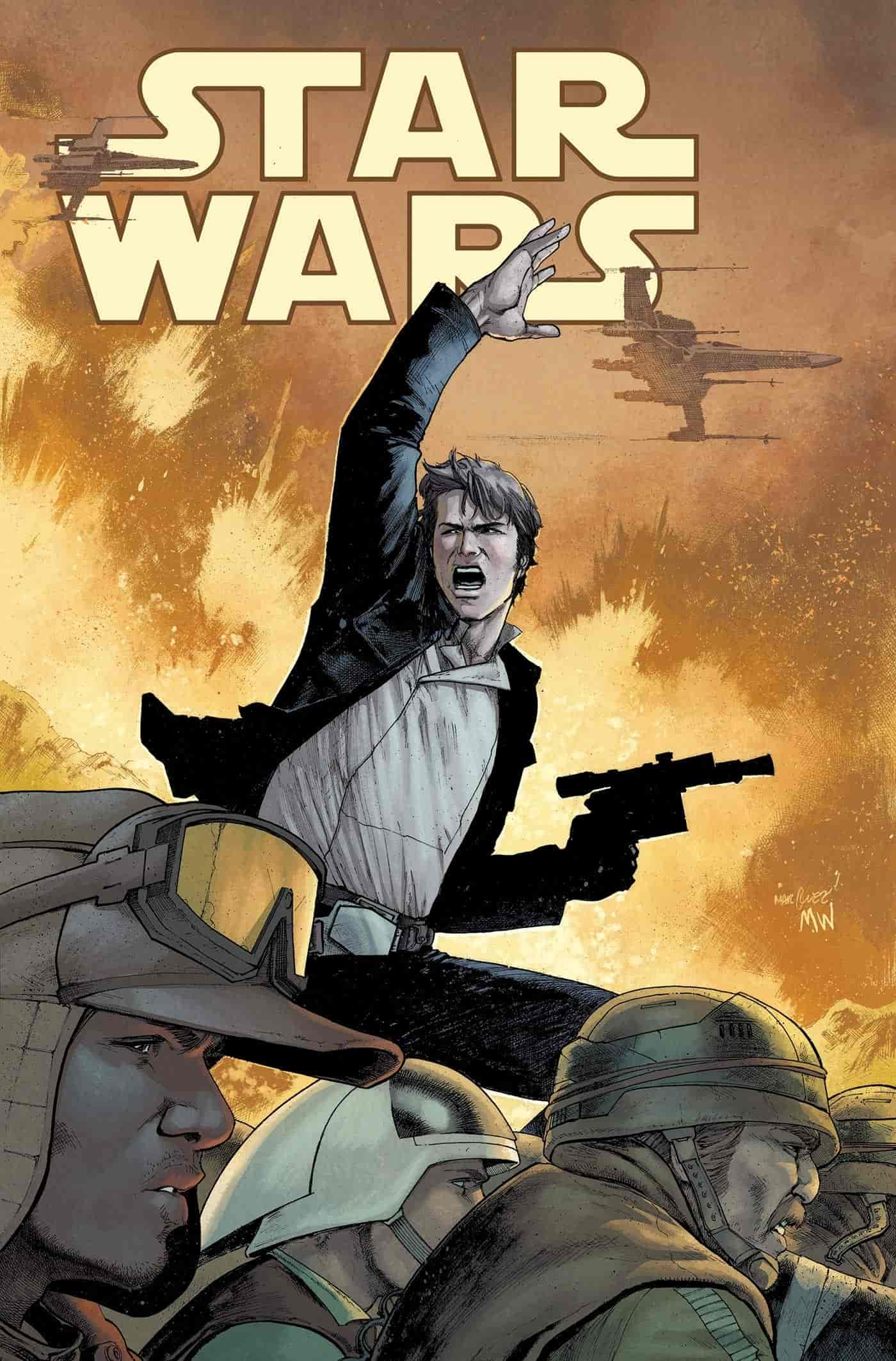 commencer a lire comics star wars marvel