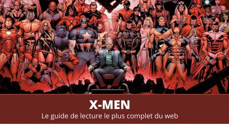 Guide de lecture comics X-Men