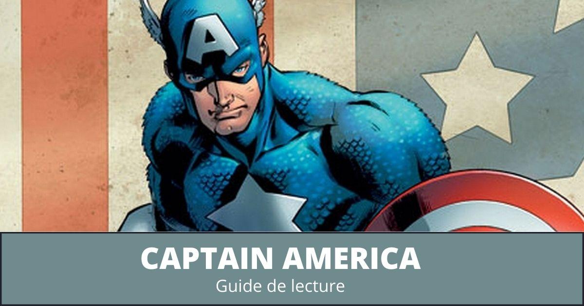 Guide de lecture comics Captain America