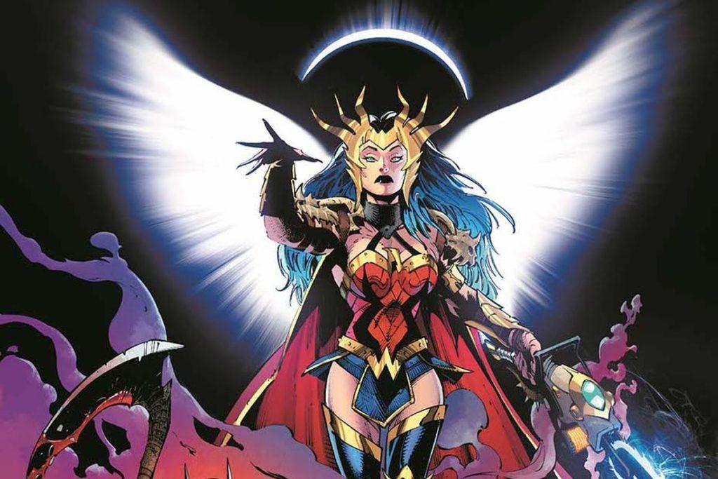 death metal batman comics wonder woman