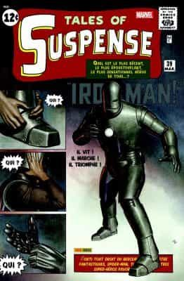 Première apparition Iron man