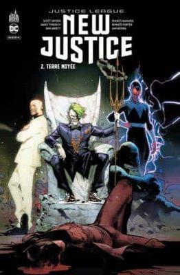 comics justice league dans l'ordre