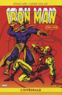 commencer comics iron man