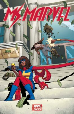 débutant comics captain marvel miss marvel
