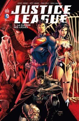 differente justice league