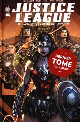 liqste comics justice league